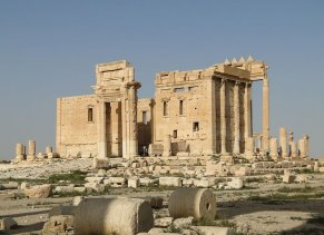 The Temple of Bel, Palmyra. Courtesy Bernard Gagnon