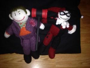 Joker/Harley dolls
