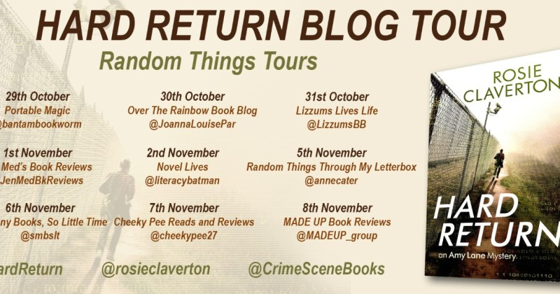 Hard Return blog tour, giveaways, and launch party