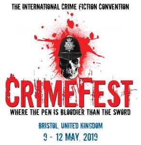 CrimeFest Bristol, UK 9-12 May 2019