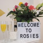 Welcome To Rosie's Sign - Price List For Treatments Feature Image