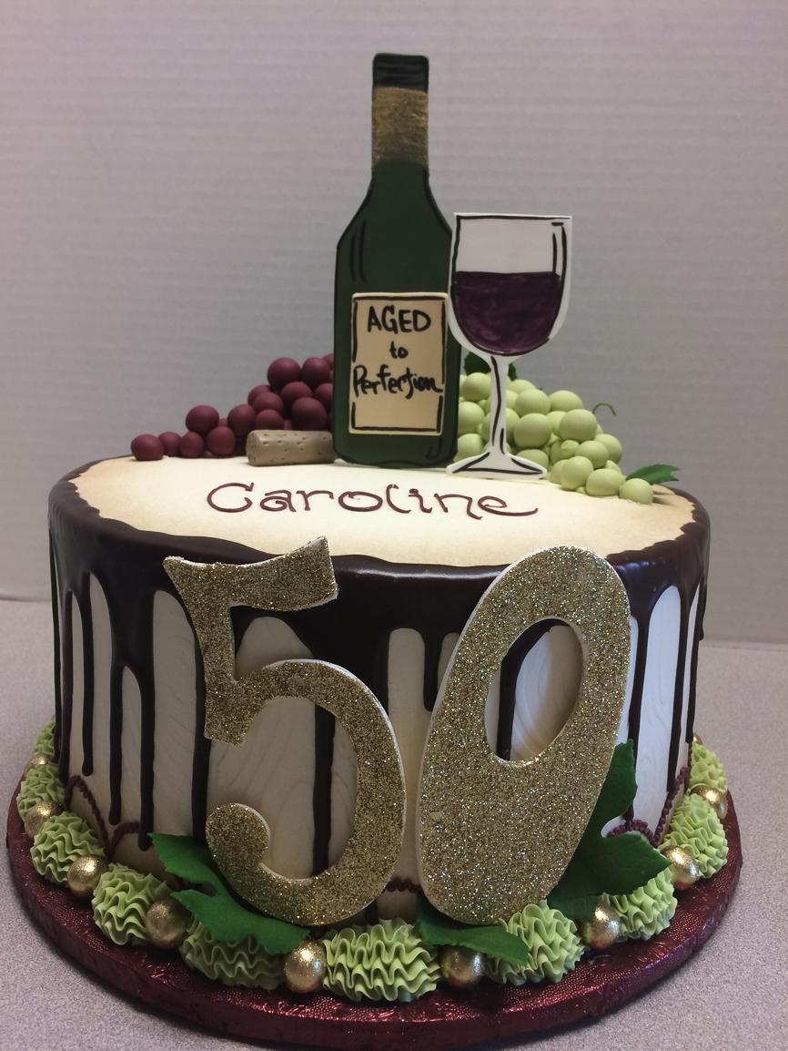 Alcoholic Milkshake Birthday Cake