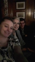 selfie with Kat at the pub and her boyfriend Jim