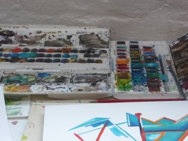 Water colours and paintings