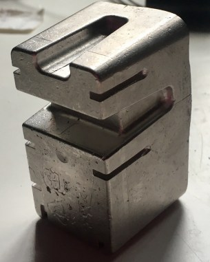 Close up of one of my alloy metal figures
