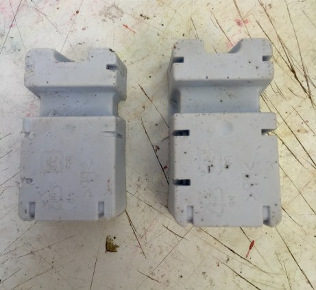 Two made silicon figures