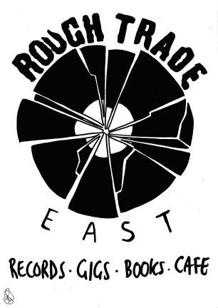 ROUGH TRADE POSTER 2 sign