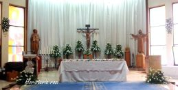 Iglesia de Capuchinos en la redonda de Murcia