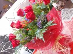 Ramo rosas san valentin