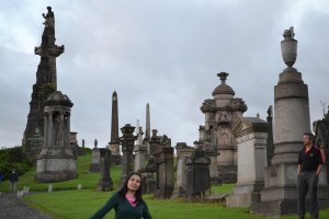Glasgow Necropolis, Scotland