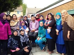 ceramah Kang Abik di Inggris