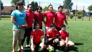Tanding sepak bola mahasiswa Indonesia di Inggris