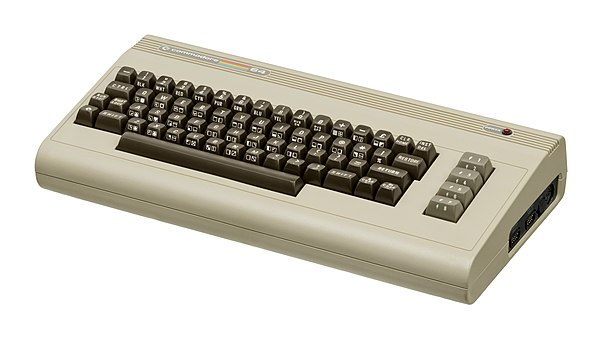 My First Computer - a Commodore 64