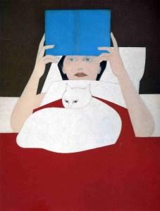 Will Barnet, Woman Reading