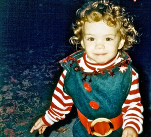 Halloween, age two
