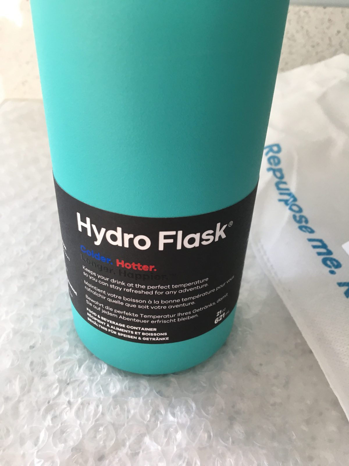Hydro flask the only bottle you will need.