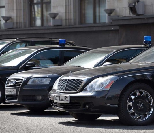 Служебный автомобиль. Фото: tjournal.ru