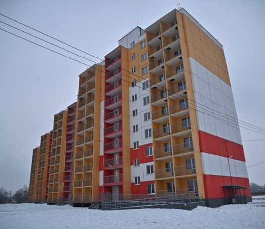 Дом на улице Аэродромной никак не могут заселить. Фото: khabkrai.ru