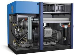 Screw Type Compressor image ( free from internet)
