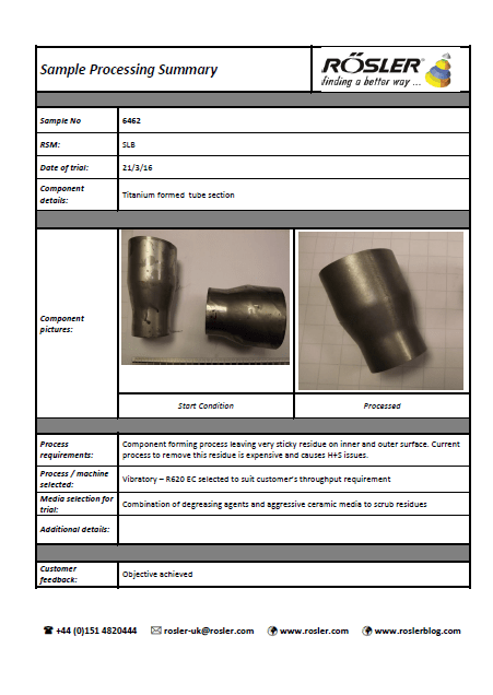 extruded parts as at 04052016