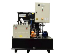 2-phased water treatment (sludge/water)