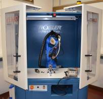 """Rösler """"in house"""" laboratory, x-ray diffraction measuring equipment"""