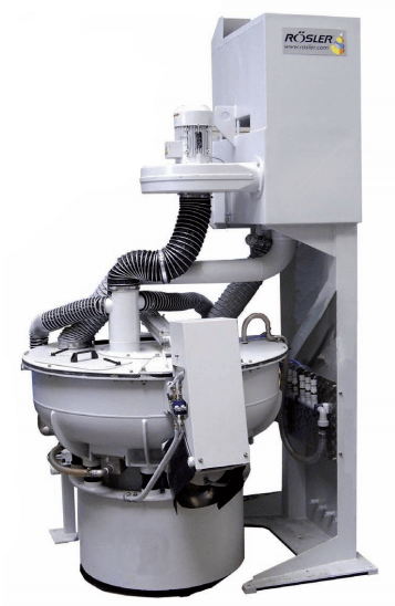 Rosler WTA Rotary Vibrator with drying system
