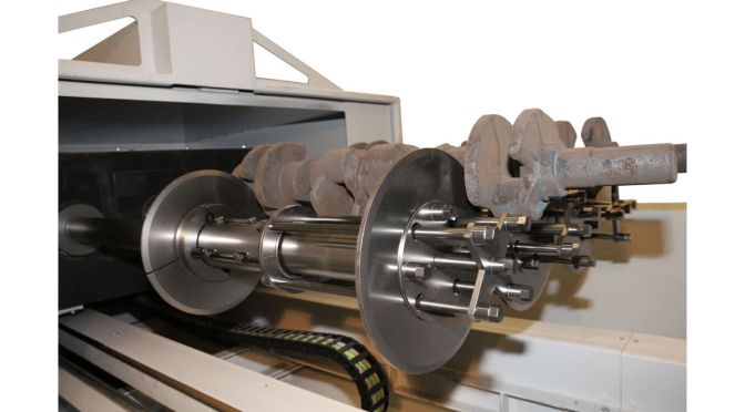 Automotive Crankshafts, Part 2 – Shot Blasting Machines Designed for Crankshafts