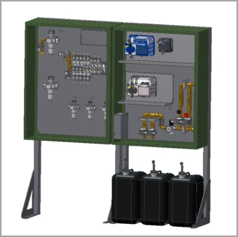 Rosler WTA rotary vibrator compound dosing system