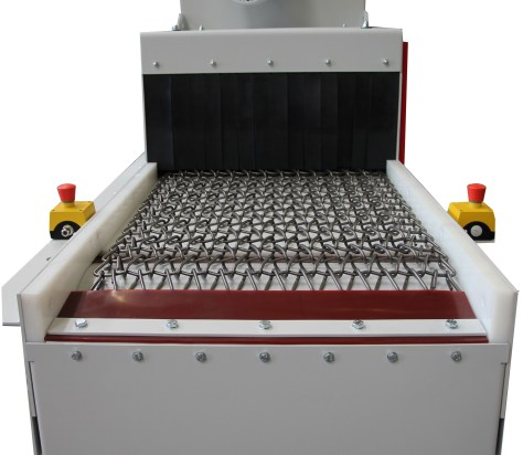 Rosler RDGE Continuous Wire Mesh Belt Machine