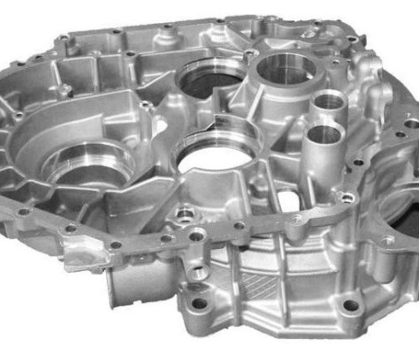 Large and complex die cast part ideal for a continuous or batch hanger type machine