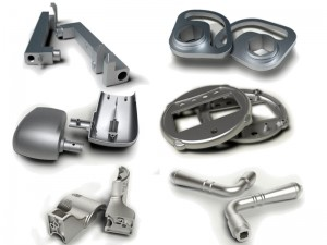 Small die cast parts