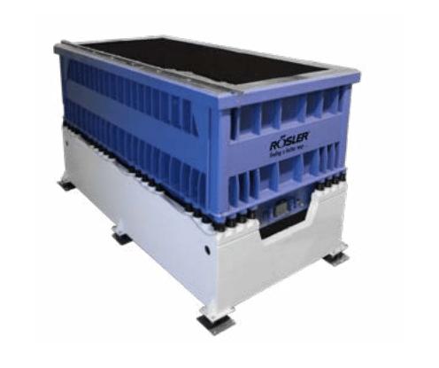 The Rosler TUM is one of Rosler's tub vibrator machine offerings
