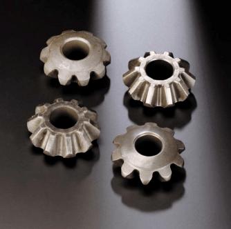 Work pieces processed by the Rosler RMBC 8.2 Tumblast Machine