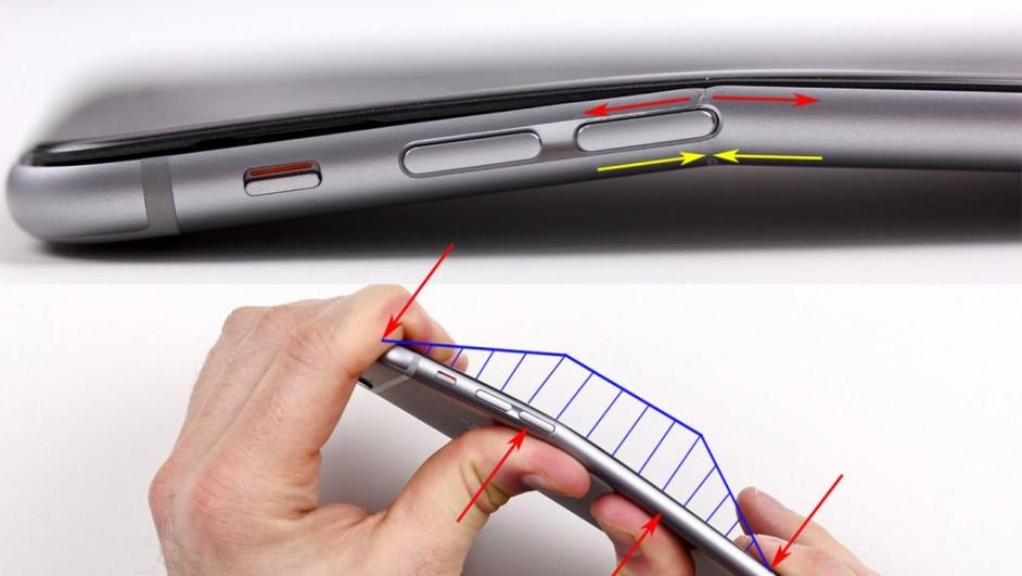 Czy iPhone 6 się wygina? Fot. imgur.com