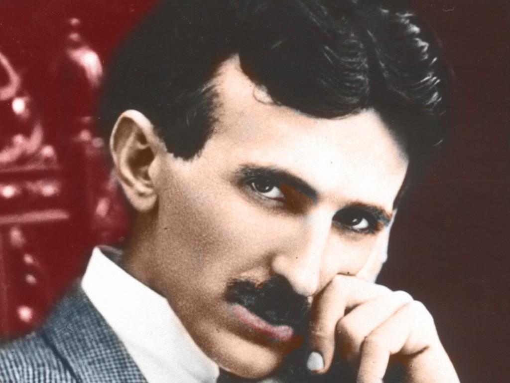 Portret Nikoli Tesli