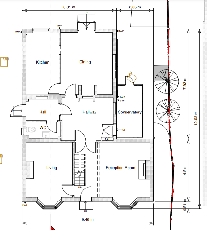 Current Downstairs Layout