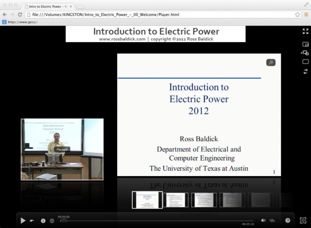 intro electric power screenshot | Ross Baldick Consulting