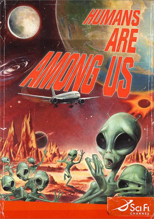humans are among us