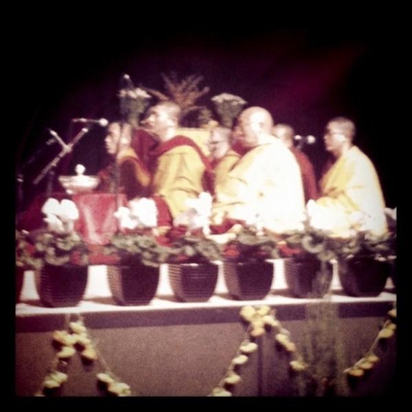 Gen Lama Thubten Phuntsok & the Gyuto Monks