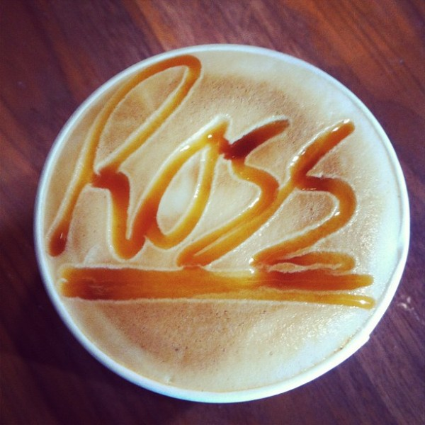 Sweet caffeine...