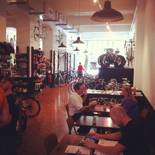Bicycle workshop & espresso bar
