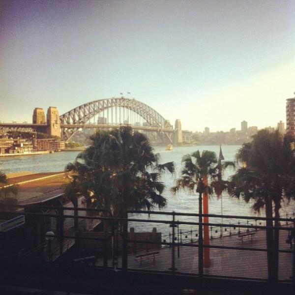 Morning, Sydney...