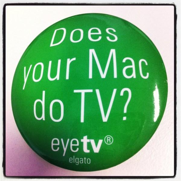 """""""Does your Mac do TV?"""" from @elgato at @MacworldExpo 2006"""