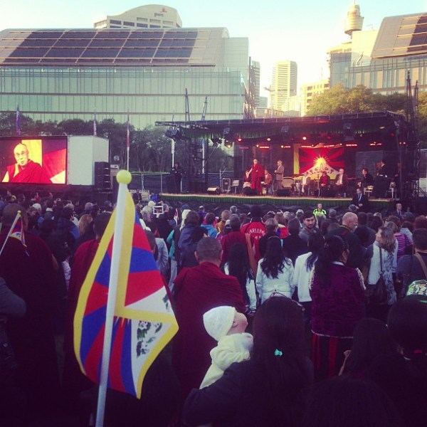 Gathering for Tibet