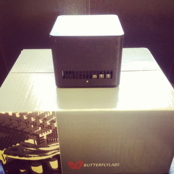 Bought my Bro's Butterflys for a couple of bits... Time to plug in & see how they hash...