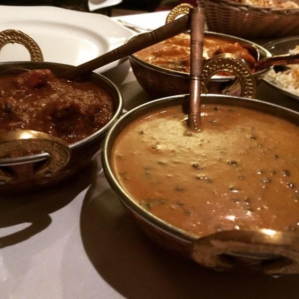 Rogan Josh, Butter Chicken, Makhi Dhal