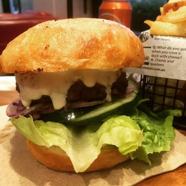 Zorba The Greek - Lamb Burger