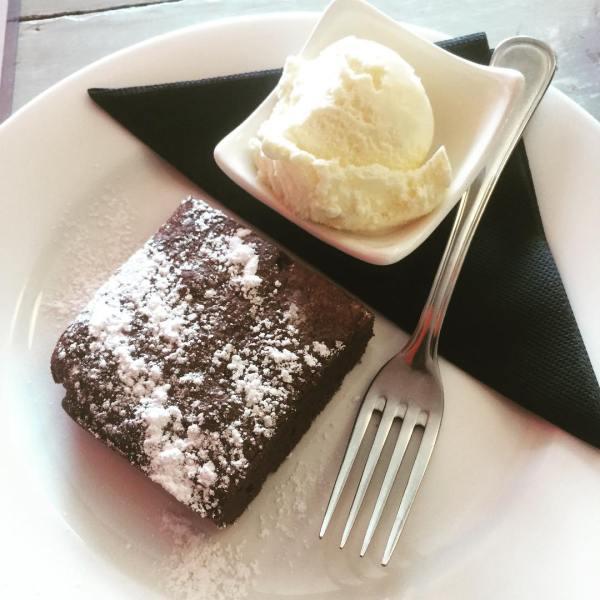 Double Belgian Chocolate Brownie
