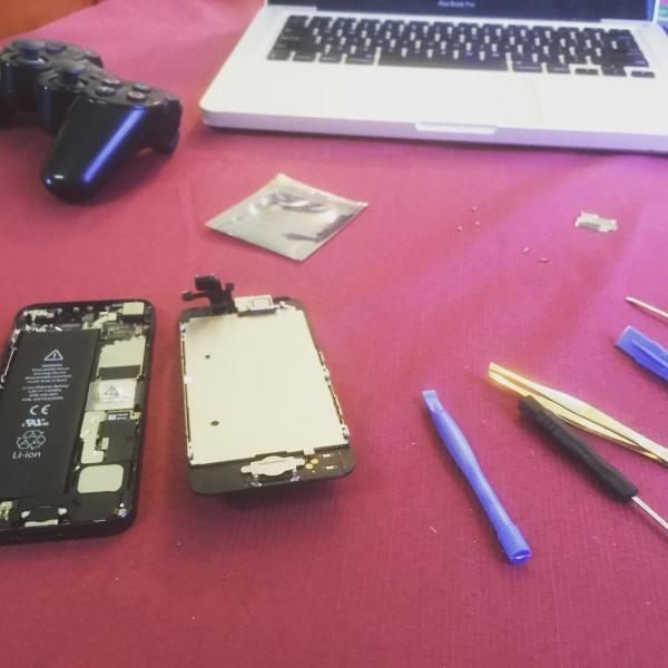 iPhone repairman...